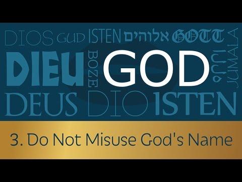 3-do-not-misuse-gods-name