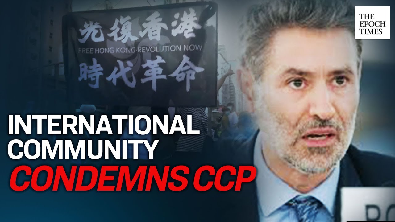 international-community-condemns-hk-national-security-law-supports-hk-hong-kong-epoch-news