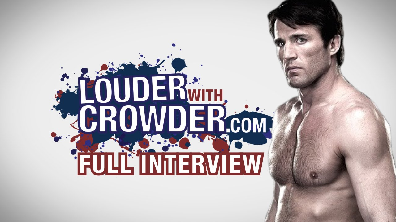 chael-sonnen-gsp-the-goat-and-more-louder-with-crowder