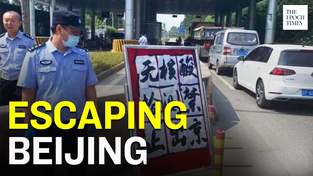long-lines-of-cars-shows-residents-leaving-beijing-not-many-returning-ccp-virus-epoch-news