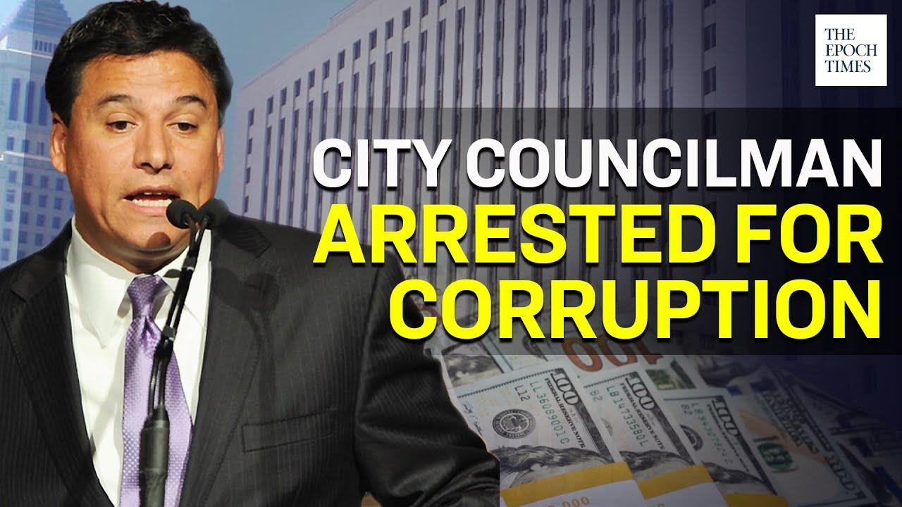 la-city-councilman-jose-huizar-arrested-by-fbi-for-corruption-ccp-virus-covid-19-epoch-news