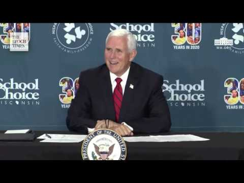 live-vice-president-pence-participates-in-a-school-choice-roundtable-epoch-times