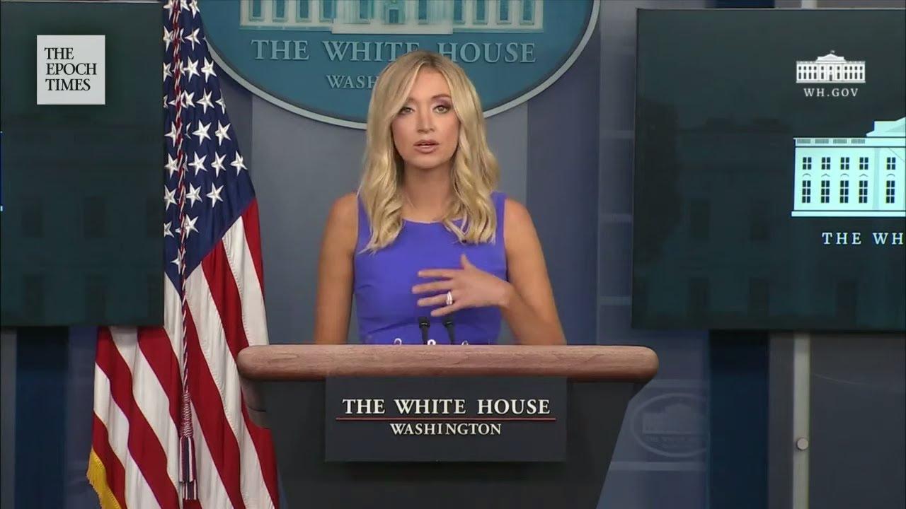 white-house-press-secretary-kayleigh-mcenany-holds-briefing-the-epoch-times