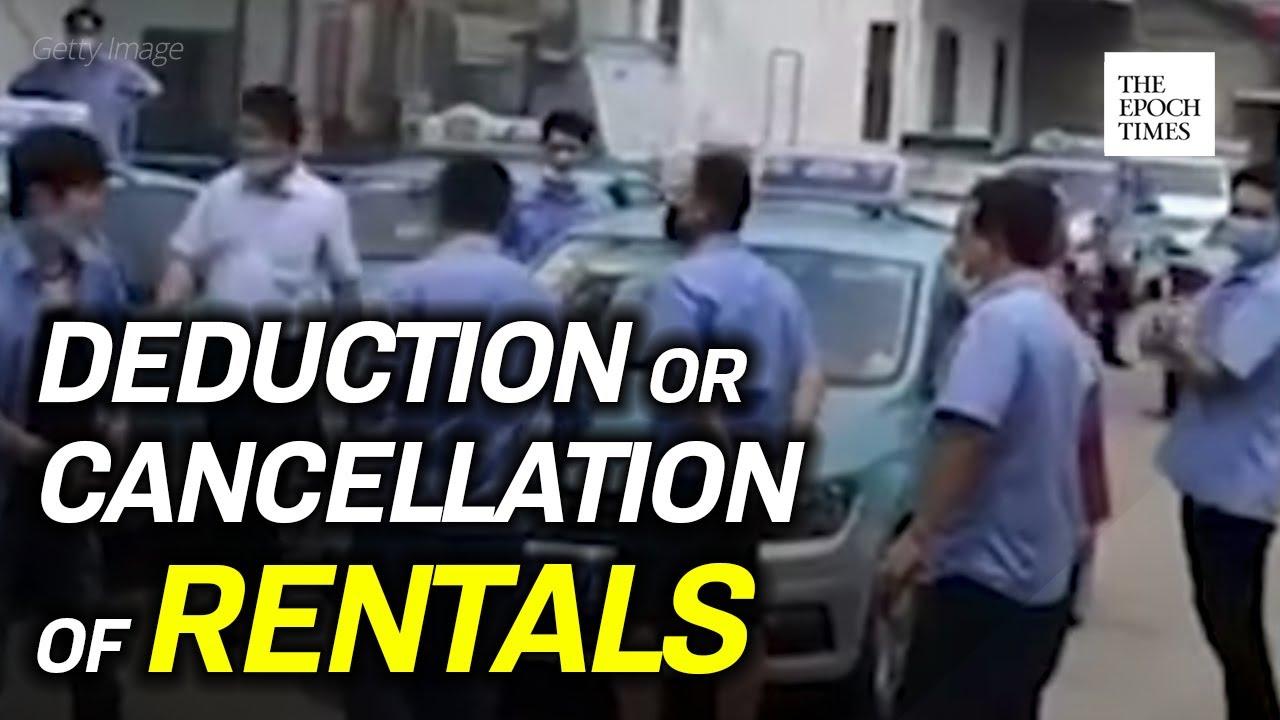 taxi-drivers-demand-rent-deduction-ccp-virus-covid-19-coronavirus-epoch-news