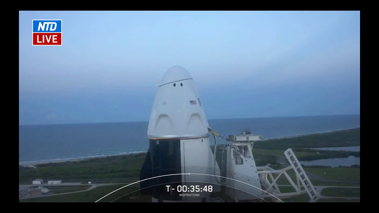 live-spacex-launches-first-all-civilian-crew-into-orbit-the-epoch-times