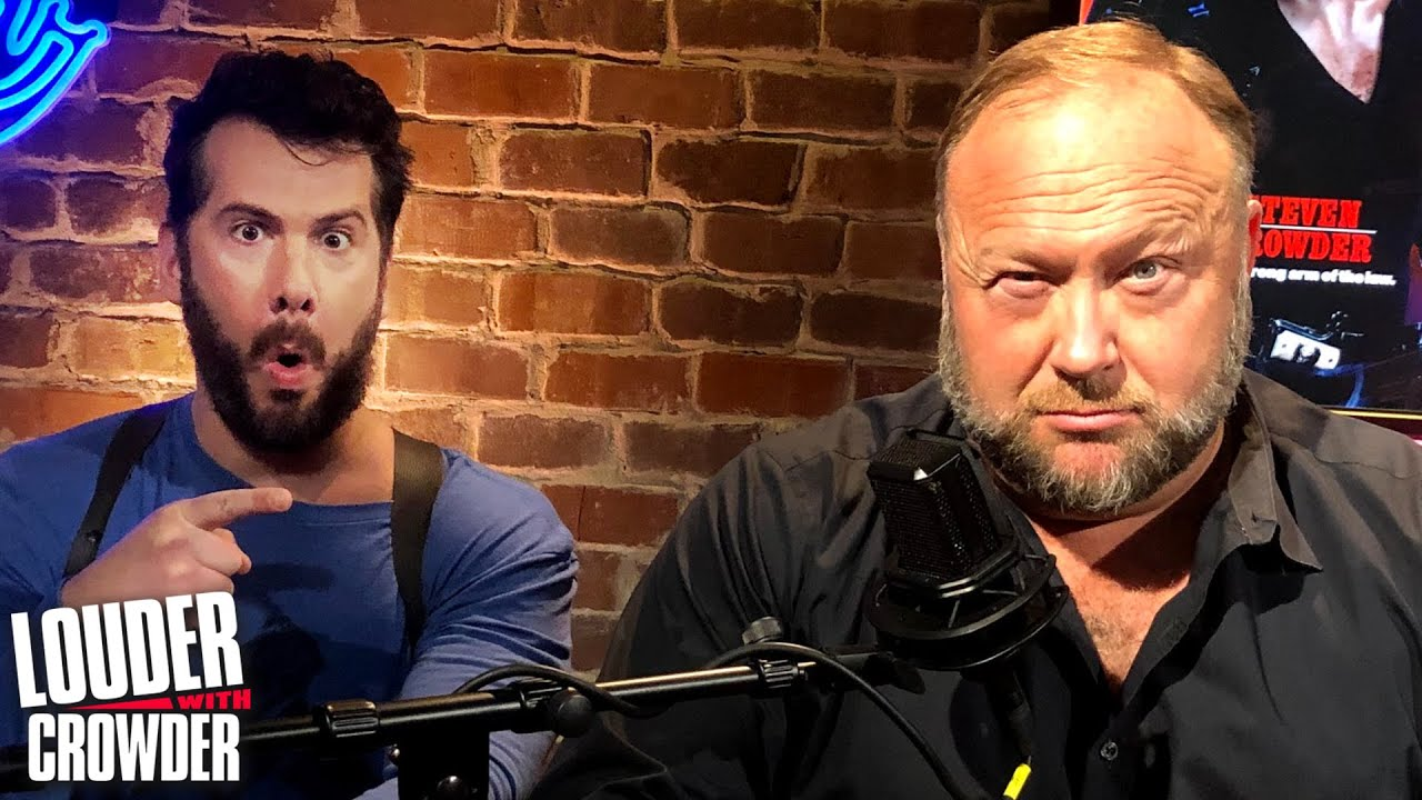 special-guest-alex-jones-on-great-reset-joe-rogan-triggers-leftists-again-louder-with-crowder
